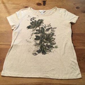 🌸 $3 SALE CHRISTOPHER & BANKS Large Top /T-Shirt